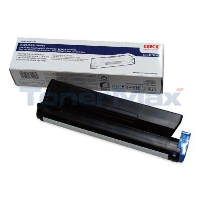OKIDATA B420DN/B430DN TYPE B1 TONER CTG BLACK 7K